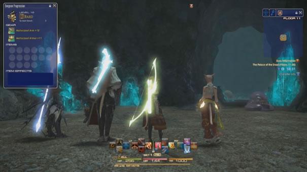 死者の迷宮UI