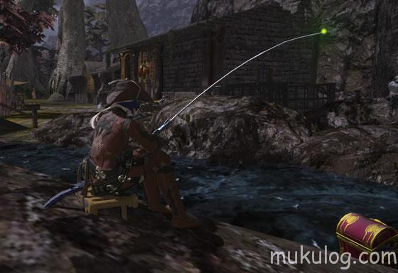 マクロブラキウム釣り